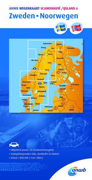 Scandinavië/IJsland 6 Zweden/Noorwegen
