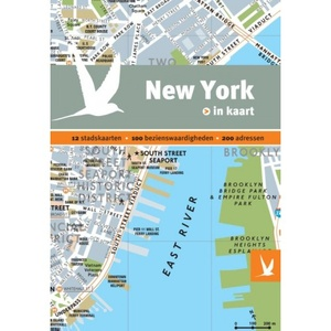 New York in kaart