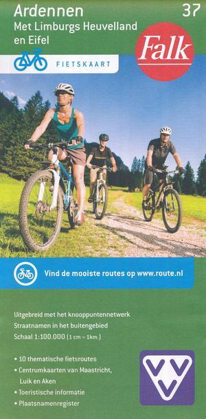 Falk VVV fietskaart 37 Ardennen