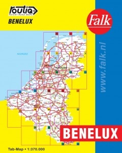 Routiq Benelux tab map