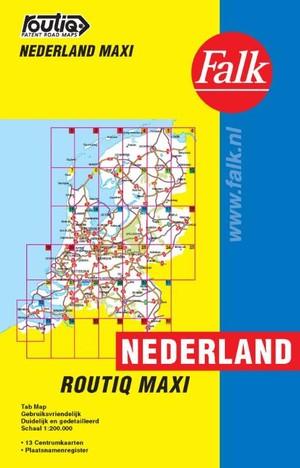 Routiq Nederland Maxi Tab Map