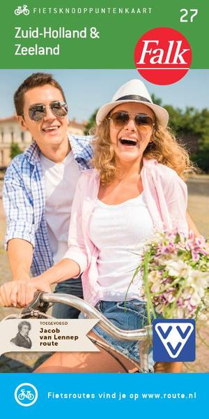 Falk fietskaart Zuid-Holland & Zeeland - Falk fietskaart Zuid-Holland & Zeeland
