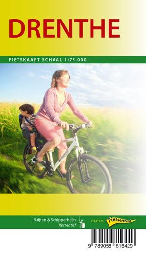 Drenthe fietskaart regio