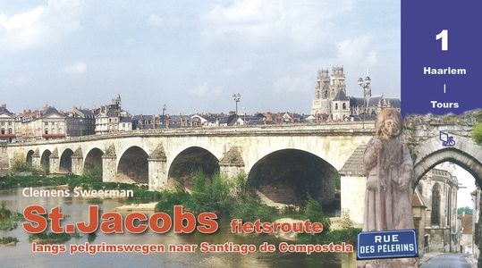 St-Jacobs fietsroute 1 Haarlem - Tours