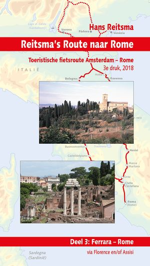 Reitsma's route 3 Ferrara - Rome via Florence en/of Assisi