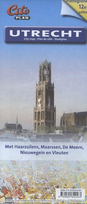 Citoplan plattegrond Utrecht