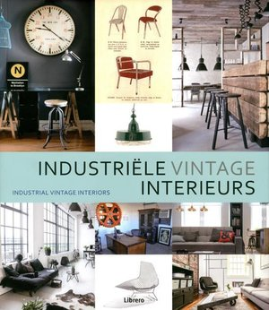 Industrieel vintage-interieurs