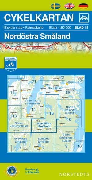 Smaland Northeast Cycling Map