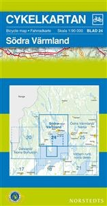 Cykelkartan 25 Ostra Varmland/narke 1:90d