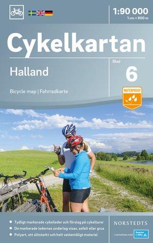 Halland fietskaart