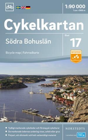Bohuslän Zuid fietskaart