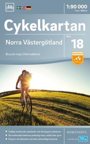 Västergotland Noord fietskaart