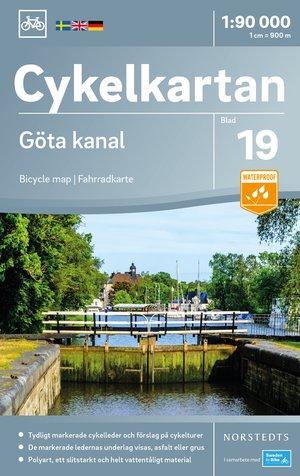 Göta kanaal fietskaart