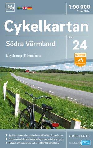 Värmland Zuid fietskaart