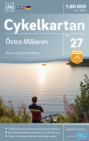 Mälaren Oost fietskaart