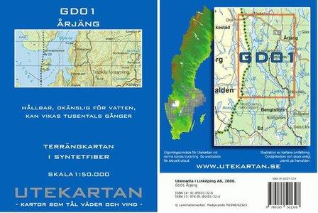 Arjang Gd01 1:50.000 Utekartan