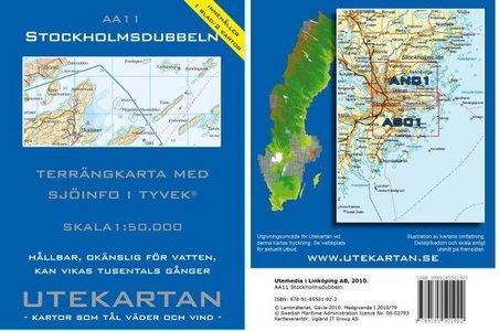 Stockholmsdubbeln 1:50.000 Aa11 Utekartan