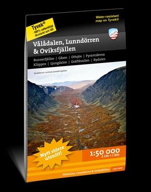 Valadalen & Lunndorren 1:50.000
