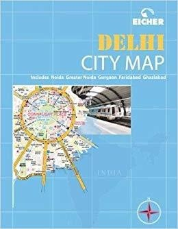 Delhi City Atlas Stratenatlas Good Earth