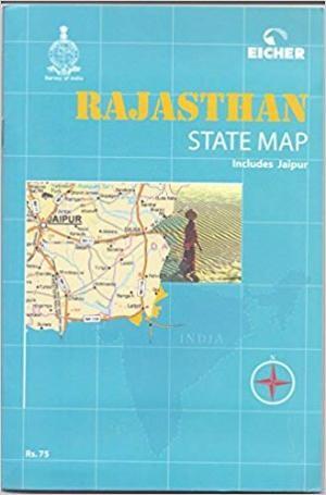 Rajasthan State Map 1:600.000