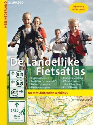 Nederland Landelijke Fietsatlas knooppuntroutes met weblinks