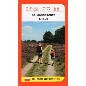Loonse route GR564 volg167 km wit-rode markeringen GR564