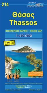 Thassos hiking