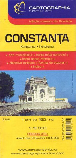 Constanta Citymap Cartographia