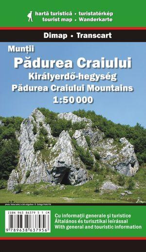 Padurea Craiului Mountains 1:50.000 Dimap