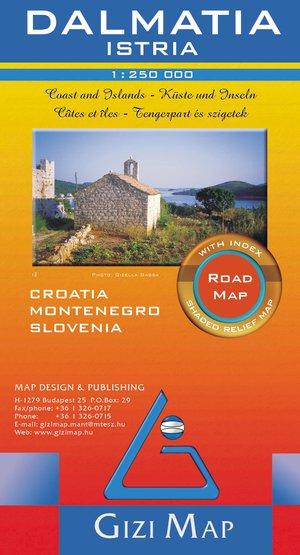 Dalmatië - Istrië road kust & eilanden