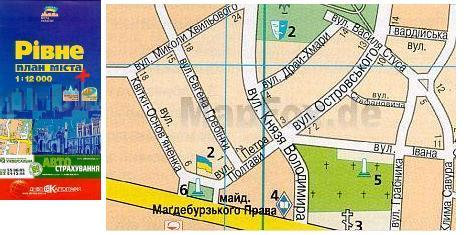 Rivne 1:12.000