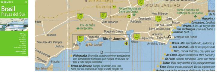 Playas Del Sur, Brasil De Dios Mapguide