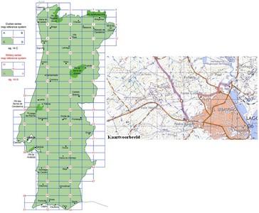 34 Iii Cascais Topographische Landkarte Portugal 1:50.000