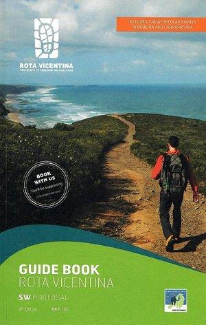 Rota Vicentina Guide Book wandelgids