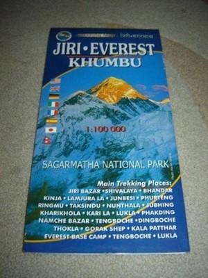 Jiri Everest Khumbu 1:100000 Map