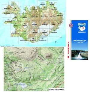Atlaskort 21 Myvatnsorfi 1:100d