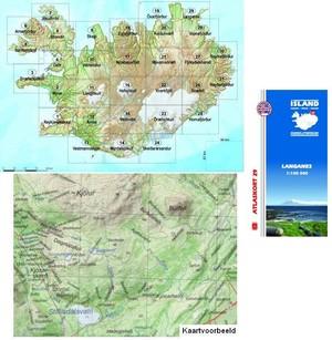 Atlaskort 29 Langanes 1:100d 29 Mm