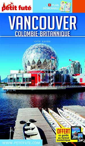 Vancouver 17 +stadsplan