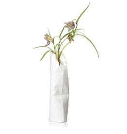 Paper Vase Cover Small White