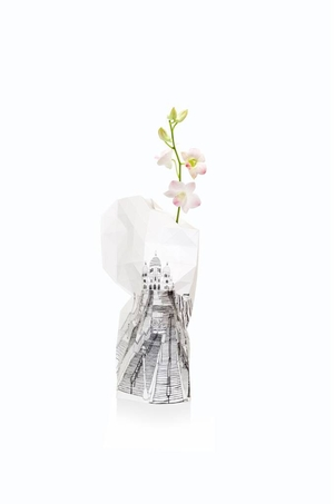 Paper Vase Cover Paris