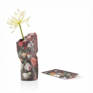 Paper Vase Small Still Life Flowers