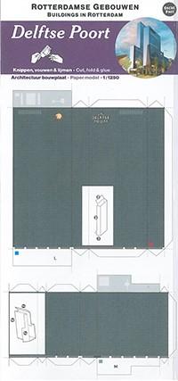 Bouwplaat Delftse Poort