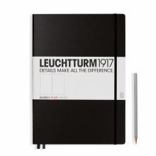 Leuchtturm A4+ Master Classic Black Plain Hardcover Notebook