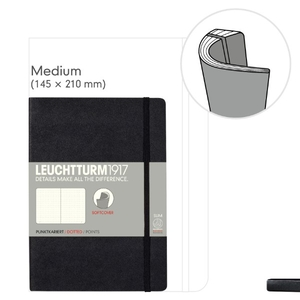 Leuchtturm A5 Medium Plain Softcover Notebook