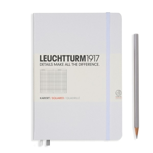 Leuchtturm A5 Medium White Squared Notebook