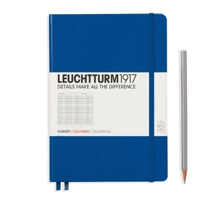 Leuchtturm A5 Medium Royal Blue Squared Notebook