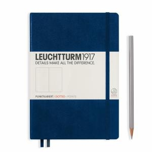 Leuchtturm A5 Medium Navy Dotted Hardcover Notebook