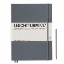 Leuchtturm A4+ Master Slim Anthracite Dotted Hardcover Notebook