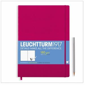 Leuchtturm A4+ Sketch Book Master Berry Hardcover