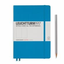 Leuchtturm A5 Medium Azure Dotted Hardcover Notebook